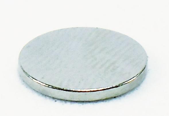 8b17e144343 Ímã de Neodímio Disco 10 x 1 mm N35